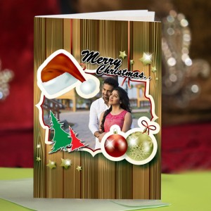 Personalized Christmas Greeting Card 002