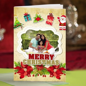 Personalized Christmas Greeting Card 003
