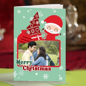 Personalized Christmas Greeting Card 004