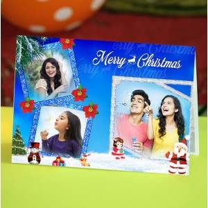 Personalized Christmas Greeting Card 006