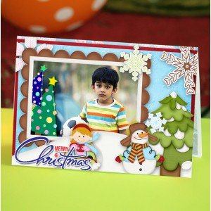 Personalized Christmas Greeting Card 007