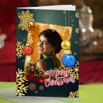 Personalized Christmas Greeting Card 009
