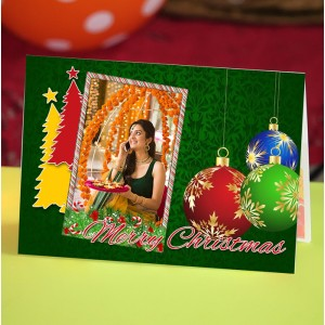 Personalized Christmas Greeting Card 011