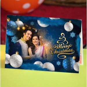 Personalized Christmas Greeting Card 013