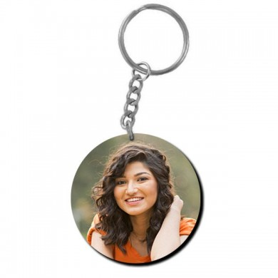 Personalized Circular Key Ring