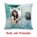 Personalized Cushion both side photo print brother sister gift 04