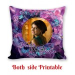 Personalized Cushion both side photo print brother sister gift 06