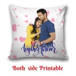 Personalized Cushion one side photo back side message Love gift 02