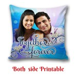 Personalized Cushion one side photo back side message Love gift 03