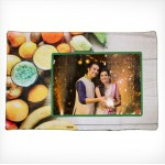 Personalized Dining Mat fruits design with photo