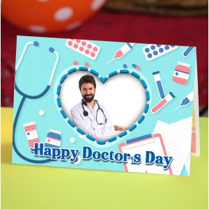 Personalized Doctors Day Greeting Card 001
