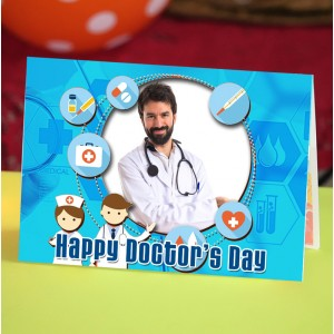 Personalized Doctors Day Greeting Card 002