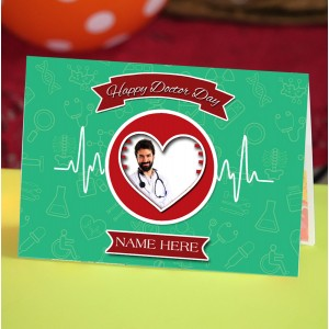 Personalized Doctors Day Greeting Card 003