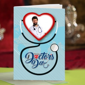 Personalized Doctors Day Greeting Card 004
