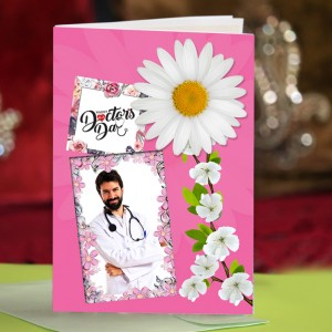 Personalized Doctors Day Greeting Card 005
