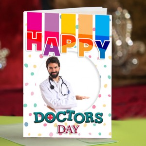 Personalized Doctors Day Greeting Card 007