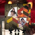 Personalized Father's Day Table Top Clock design 05