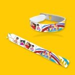 Personalized friendship band with photo and message 02