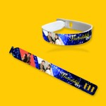 Personalized friendship band with photo and message 05