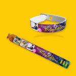 Personalized friendship band with photo and message 07