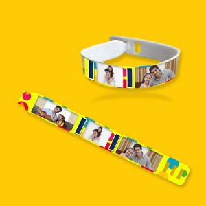 Personalized friendship band with photo and message 08