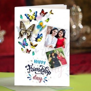 Personalized Friendship Day Greeting Card 001