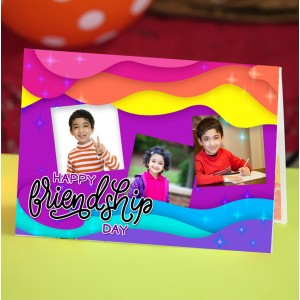 Personalized Friendship Day Greeting Card 004