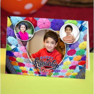 Personalized Friendship Day Greeting Card 005