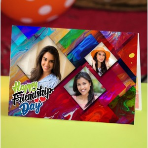 Personalized Friendship Day Greeting Card 007