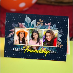 Personalized Friendship Day Greeting Card 009