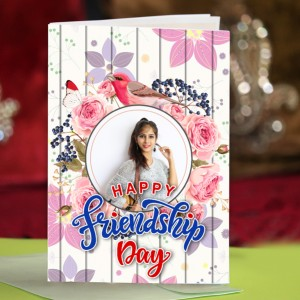 Personalized Friendship Day Greeting Card 010