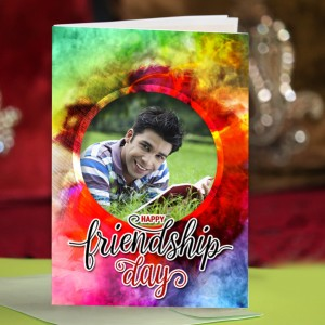 Personalized Friendship Day Greeting Card 012