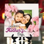 Personalized Happy Mother's Day ceramic Tile design 01