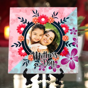 Personalized Happy Mother's Day ceramic Tile design 02