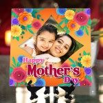 Personalized Happy Mother's Day ceramic Tile design 09