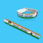 Personalized Independence Day band with photo and message 05