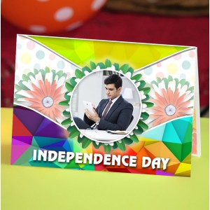 Personalized Independence Day Greeting Card 002