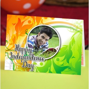 Personalized Independence Day Greeting Card 003