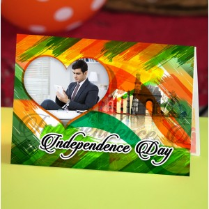 Personalized Independence Day Greeting Card 008