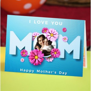Personalized Mothers Day Greeting Card 001