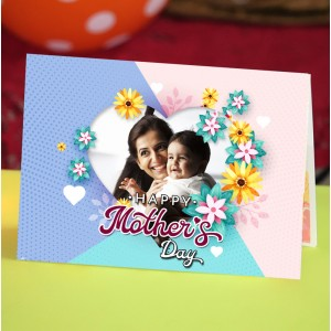 Personalized Mothers Day Greeting Card 005