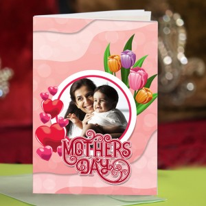 Personalized Mothers Day Greeting Card 006