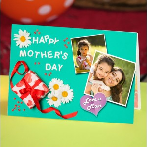 Personalized Mothers Day Greeting Card 012