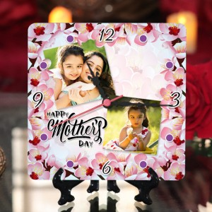 Personalized Mother's Day Table Top Clock design 01