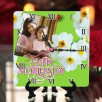 Personalized Mother's Day Table Top Clock design 04