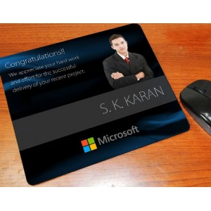Personalized mouse pad for corporates
