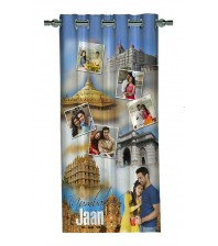 Personalized Mumbai Memories Photo Curtain