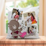 Personalized Musical Teddy cushion design
