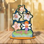 Personalized Nanhi pari MDF cutout photo collage stand