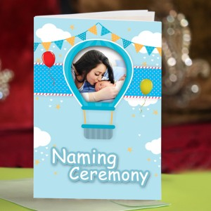 Personalized New Baby Greeting Card 001